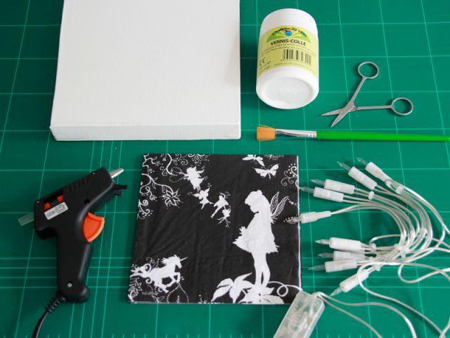 Tableau féerique : le matériel - Les Ateliers de Mireia