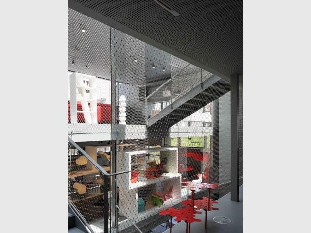 Vue sur le mobilier - rbc design center