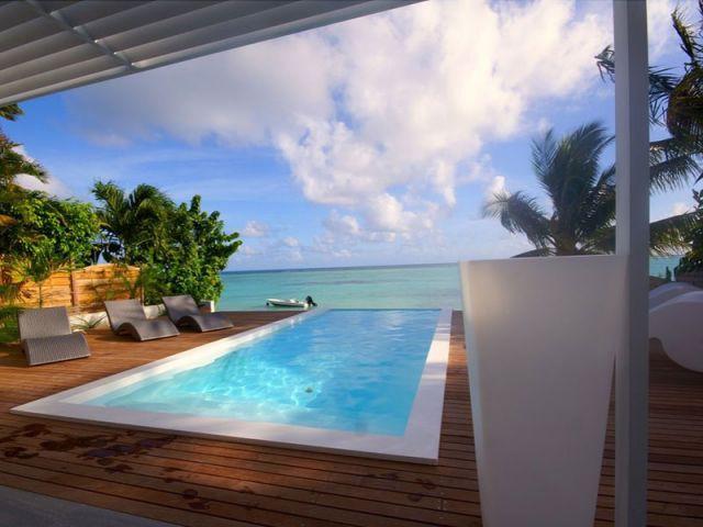 Une maison de rêve ouverte sur un lagon (suite) - www.villa-lagon-guadeloupe.com