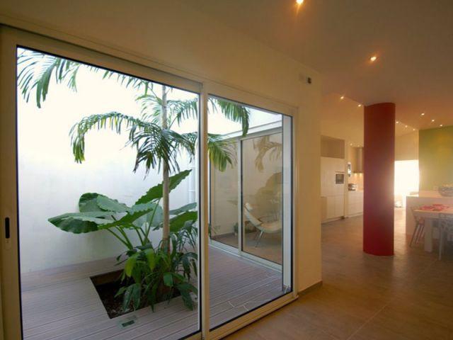 Patio intérieur - www.villa-lagon-guadeloupe.com