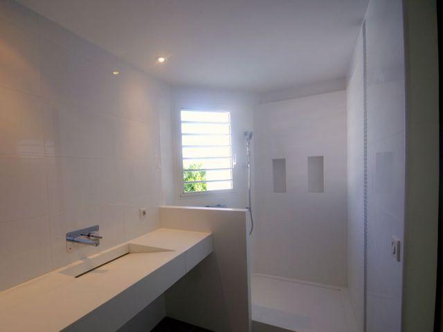 Salle de bains - www.villa-lagon-guadeloupe.com