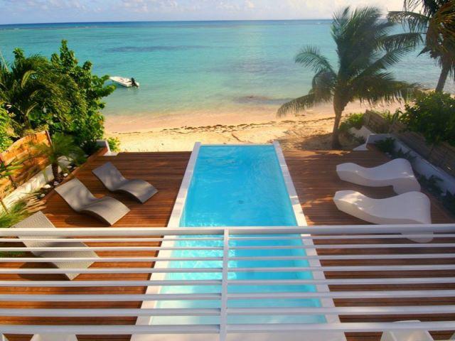 Vue à l'étage - www.villa-lagon-guadeloupe.com