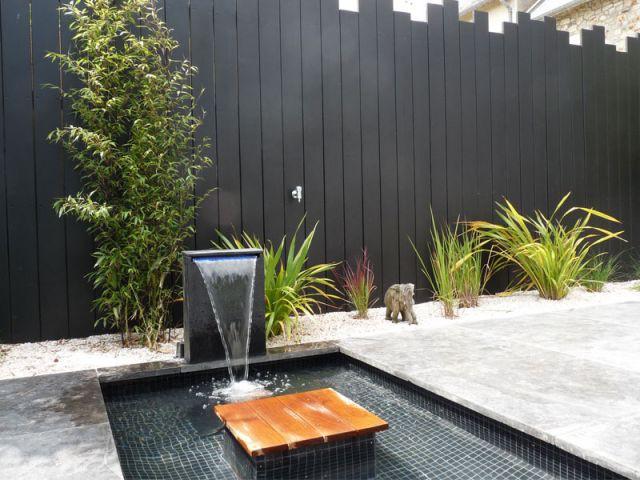Lame d'eau - Terrasse Cardinal Jardin