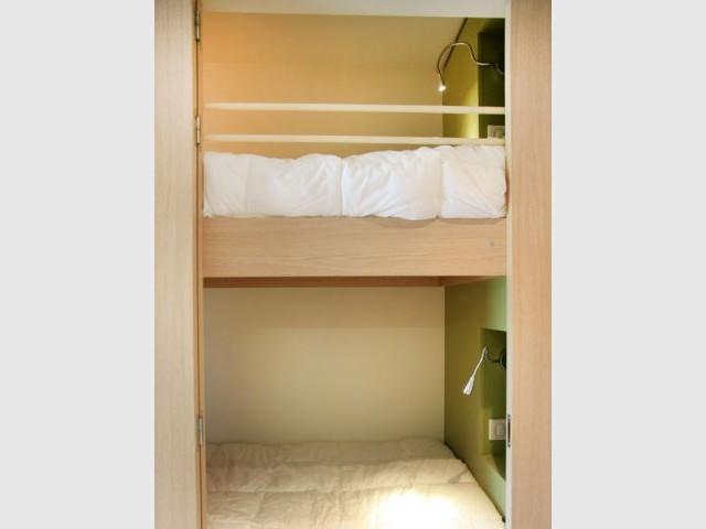 """Des chambres """"cabines"""" - nautilus"""