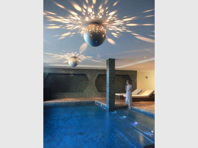 Une piscine aux allures de fonds marins - nautilus