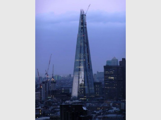 Construction - The Shard