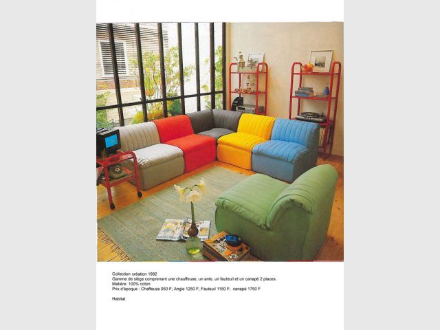 habitat surfe sur la tendance des meubles vintage. Black Bedroom Furniture Sets. Home Design Ideas