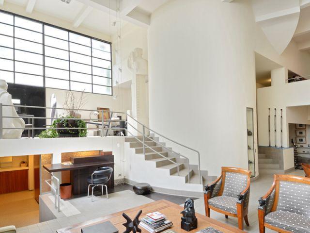1 atelier d 39 artiste con u par mallet stevens cherche preneur. Black Bedroom Furniture Sets. Home Design Ideas