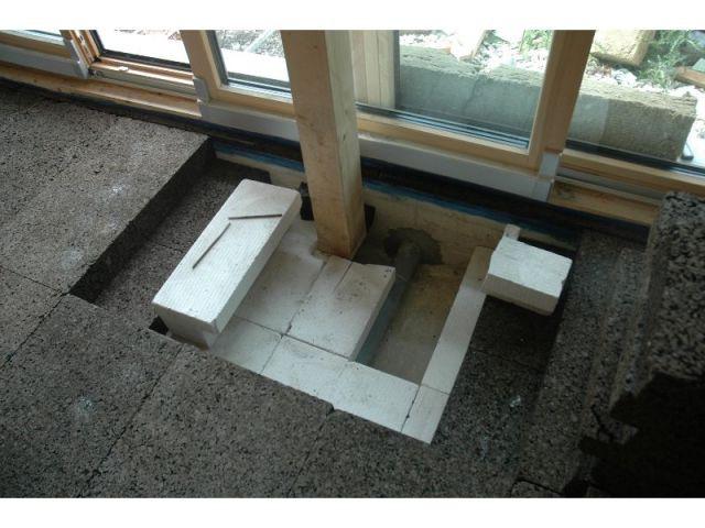 Isolation des sols - maison vanbesien
