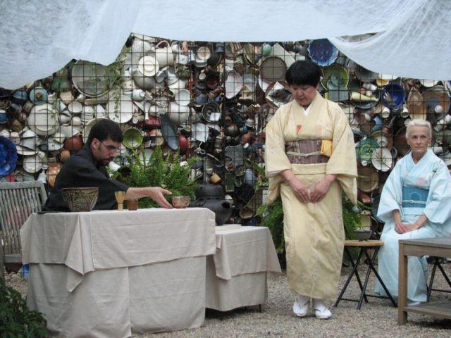 La cérémonie japonaise du thé - exposition Québec