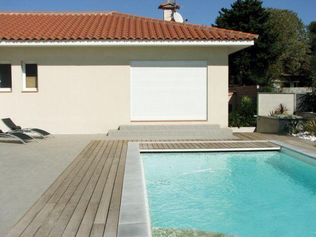L'emplacement de la piscine - Reportage terrasse piscine