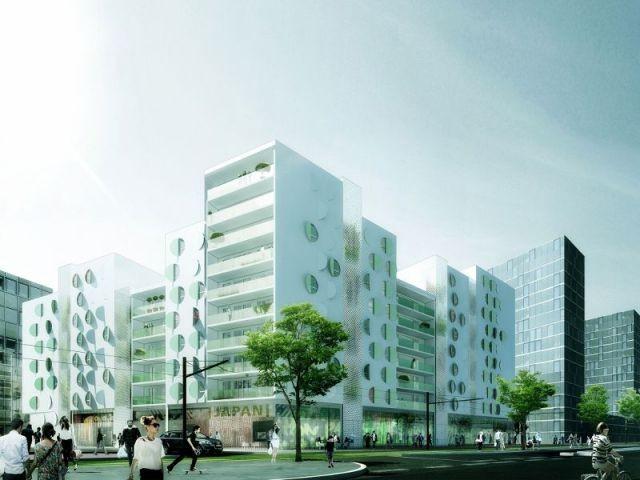 Ecoquartier de manuelle Gautrand à Toulouse