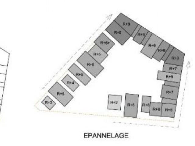 Les plans détaillés - Ecoquartier de manuelle Gautrand à Toulouse