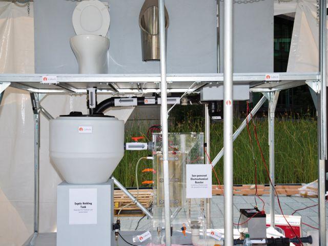 Premier prix du concours Reinvent the toilet - Toilettes du futur