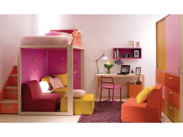 La chambre arlequin rose - 10 ambiances chambre d'enfant
