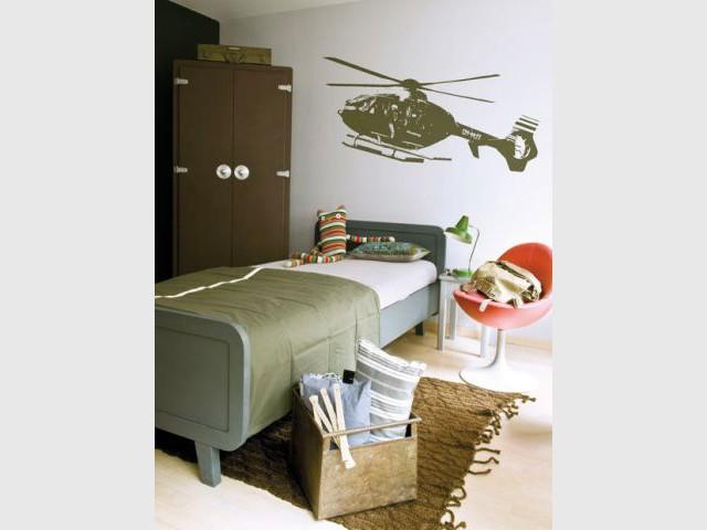 La chambre du baroudeur - 10 ambiances chambre d'enfant