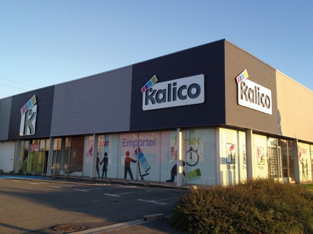 Magasin Kalico à Englos (Nord) - Magasin Kalico
