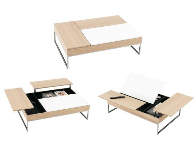 Table basse et rangements - Idées studio