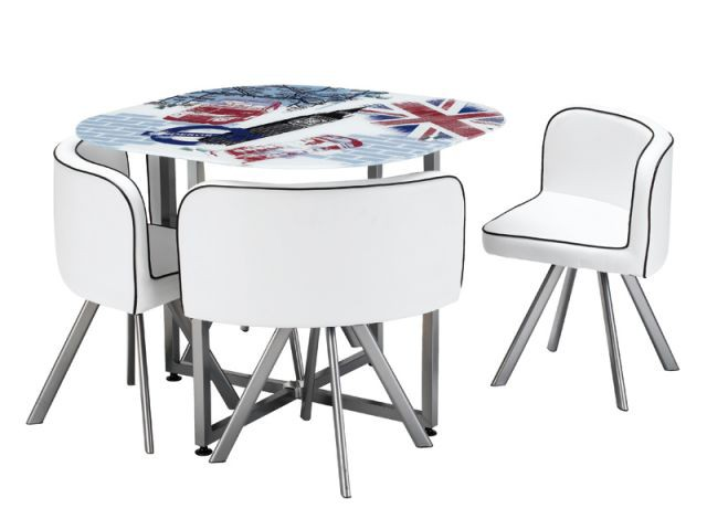 Table Union jack - Idées studio