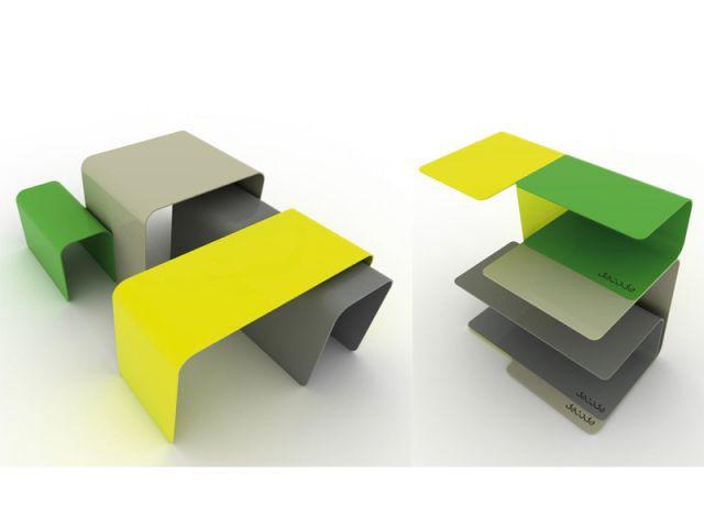 Etagère et table basse - Idées studio