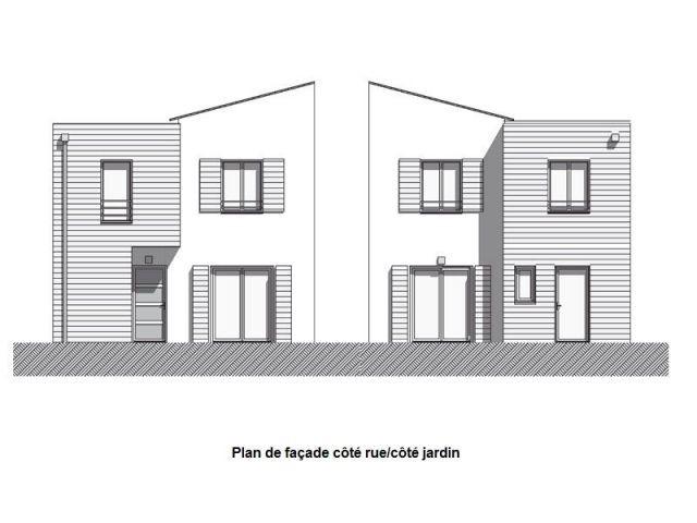 A vert saint denis un co quartier de maisons for Plan des facades