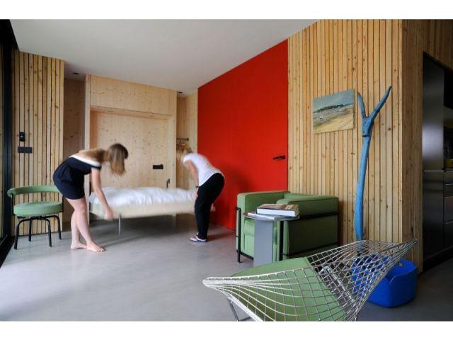 Une maison qui vit  - Modularité 3 - maison barres-coquet