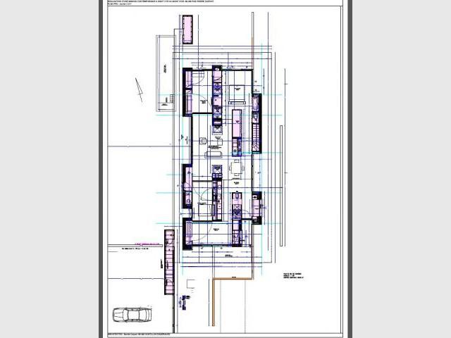 Plan de la maison - maison barres-coquet