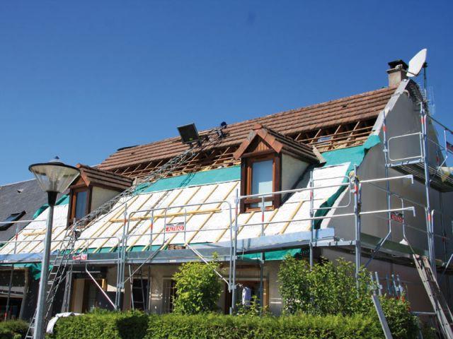 une maison s 39 offre une r novation thermique par l 39 ext rieur