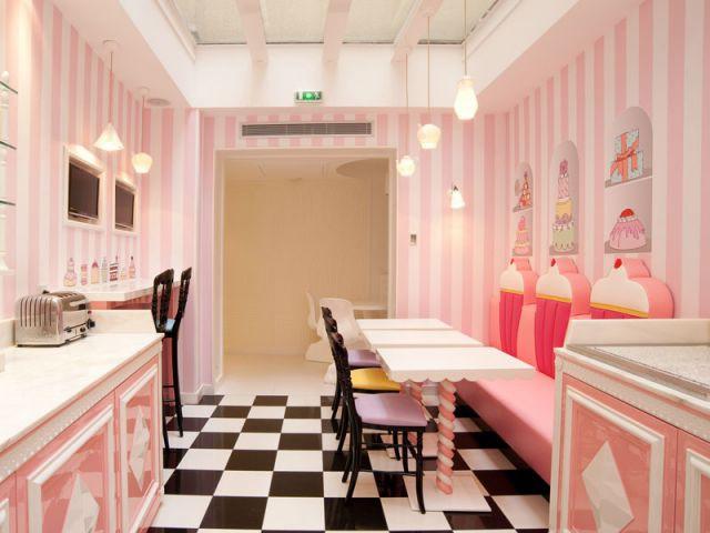 Salle de petit déjeuner - Hôtel Chantal Thomass