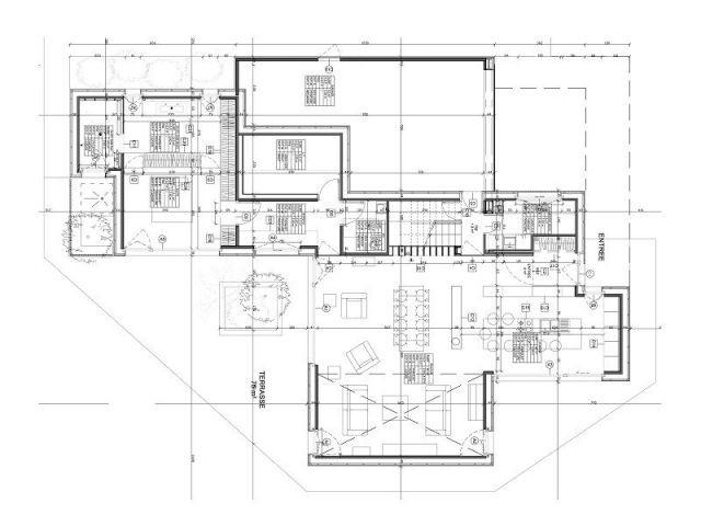 une maison passive en bois massif peu conventionnelle. Black Bedroom Furniture Sets. Home Design Ideas