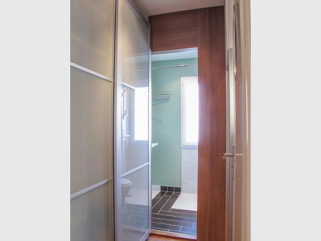 Salle de bains - Avant après appart Lausanne