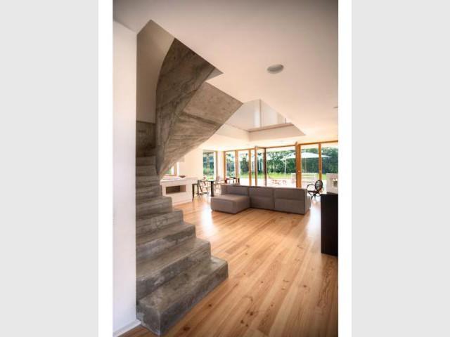 Réajustement au niveau de la ventilation - Maison passive Pays Basque