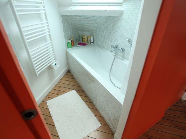 Salle de bains  - Reportage combles