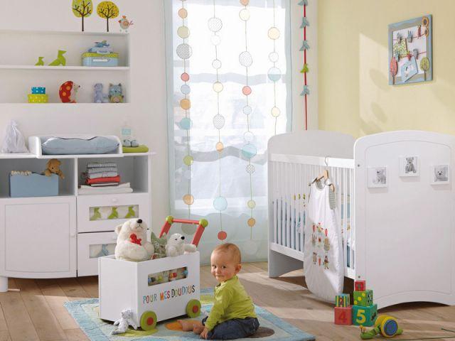 La chambre multicolore - Chambres  bébé