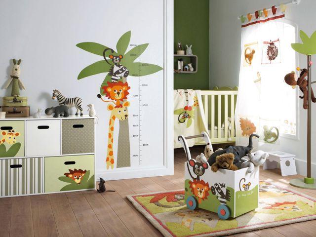 La chambre jungle - Chambres  bébé