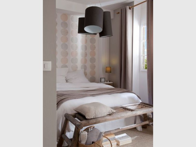 Une chambre 100% nature - Castorama