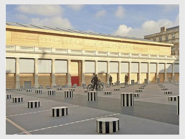 Théâtre provisoire de la Comédie Française à Paris  - Prix national de la construction bois