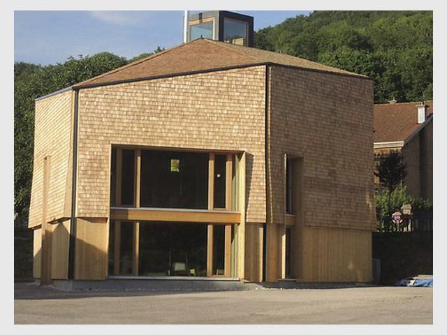 Périscolaire à Tendon (88) - Prix national de la construction bois