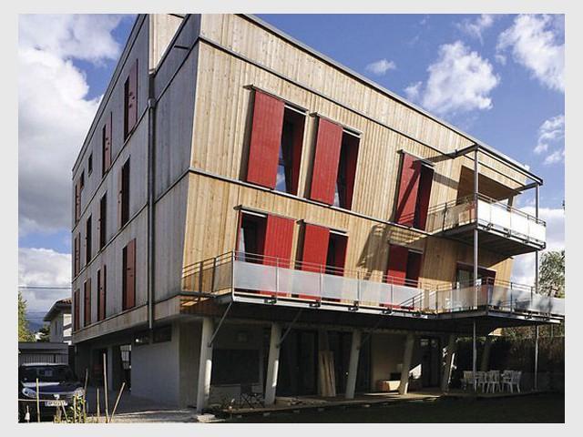 La Salière à Grenoble (38) - Prix national de la construction bois