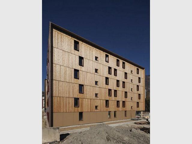 Logements sociaux Le Tournesol à Grenoble (38) - Prix national de la construction bois