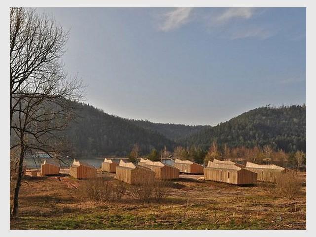Village de Gites à Celles-sur-Plaine (88) - Prix national de la construction bois