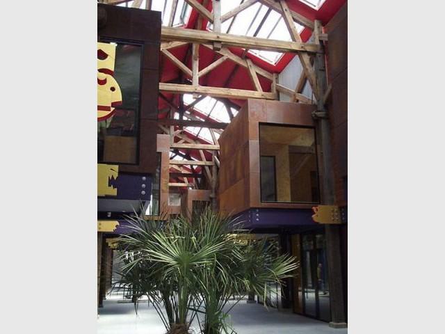 Halle de la Madeleine à Nantes (44) - Prix national de la construction bois