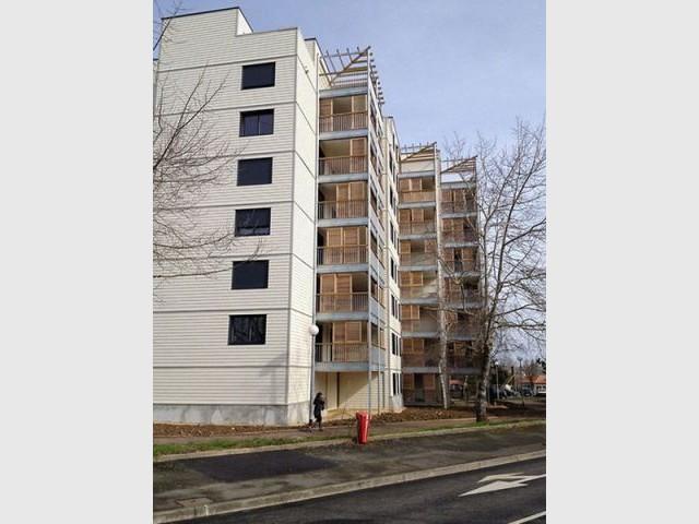 Réhabilitation de 146 logements sociaux à Cholet (49) - Prix national de la construction bois