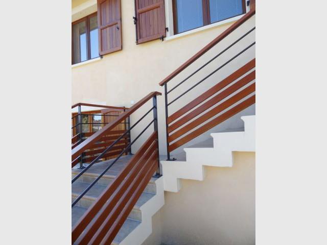 Après - Garde-corps - Rénovation escalier extérieur