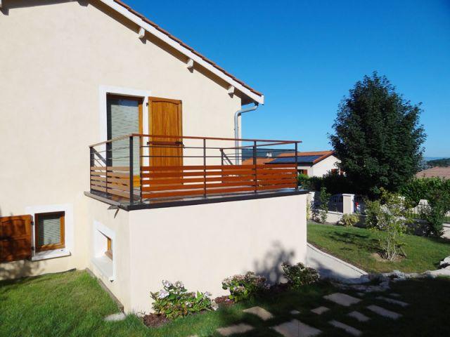 Des ouvertures vers les parties les plus agréables - Rénovation escalier extérieur
