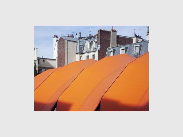 Couverture de tennis TEP Poliveau à Paris