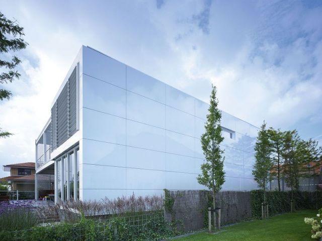 Panneaux de façade - Steel Study House 2