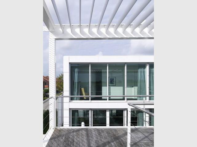 Terrasse - Steel study house 2