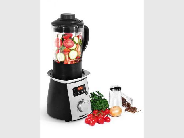 Mixer et faire cuire les légumes - Soupe de légumes