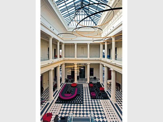 Salle des pas perdus - Après - Hôtel Radisson Blu Nantes